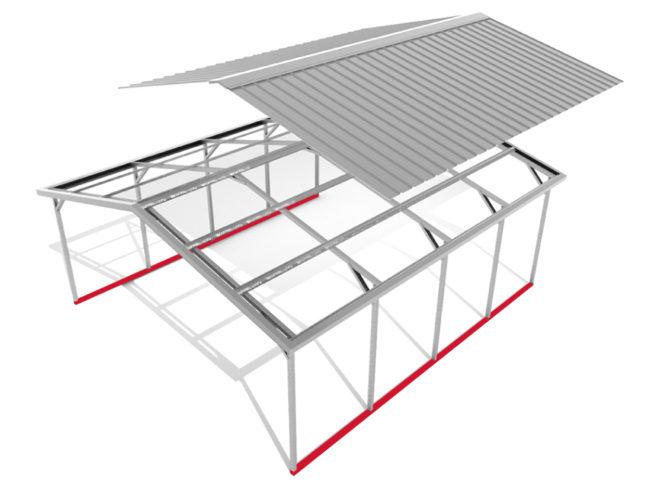 image Carport-Express-Components-Base-Rails