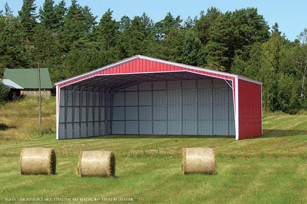 Clear Span Metal Building