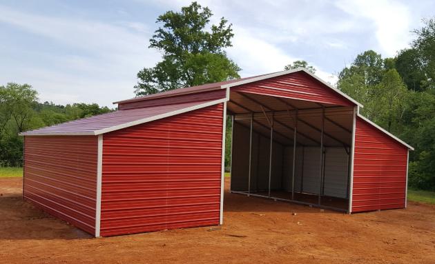 Raise Center Aisle Barn