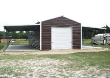 Boxed Eave Step Down Barn